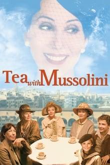 Un tè con Mussolini