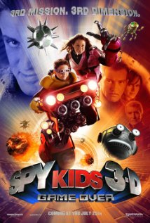 Spy Kids 3 Game Over