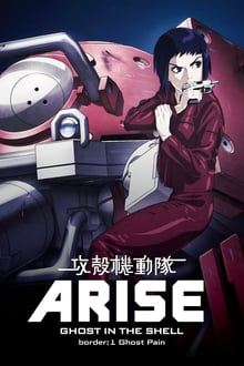 Ghost in the Shell: Arise – Border 1: Ghost Pain