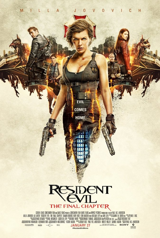 Resident Evil: The Final Chapter/Gold/Hidden Figures