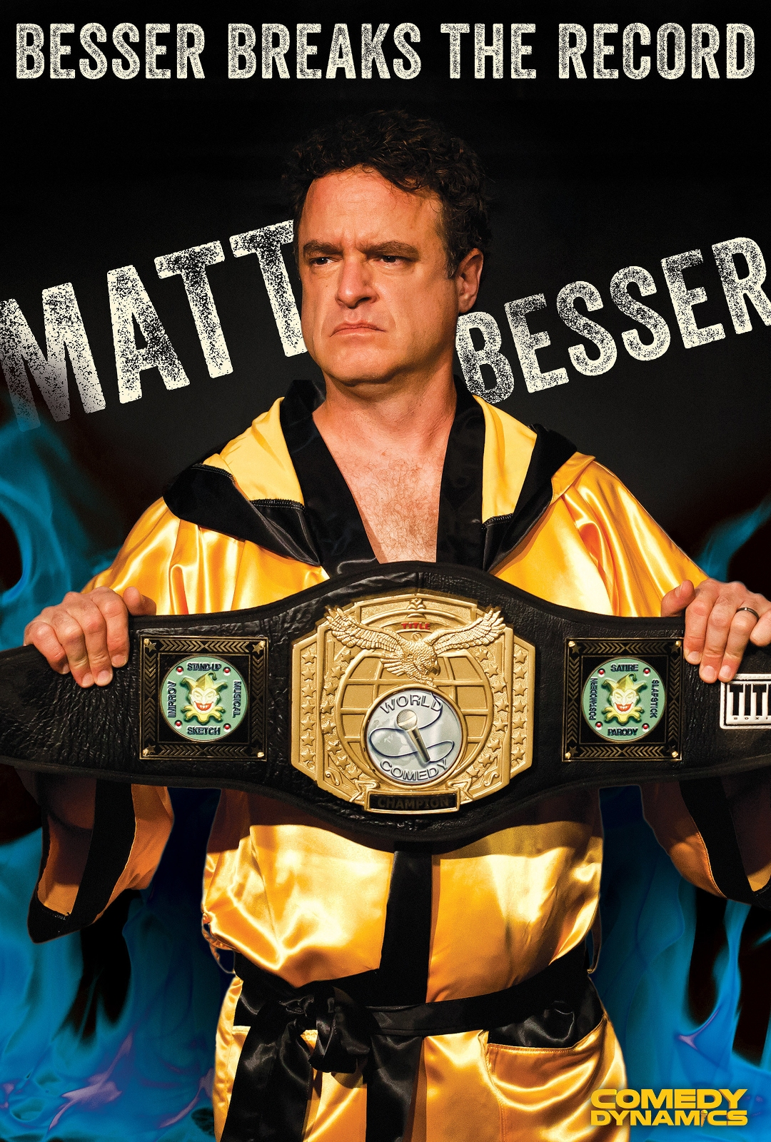 Matt Besser Breaks The Record