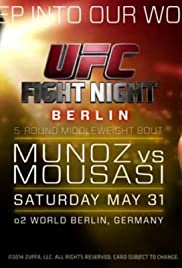 UFC Fight Night: Munoz vs. Mousasi
