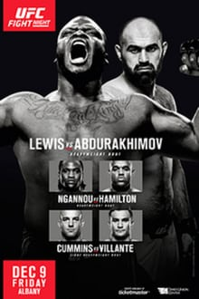 UFC Fight Night: Lewis vs. Abdurakhimov